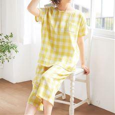 さわやかサマーガーゼ®かぶりパジャマ/やみつきの軽さ!(綿99%)