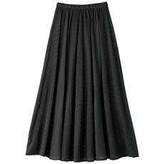 刺しゅうスカート(綿100%)