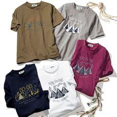 ドライプリントTシャツ(ロゴス)