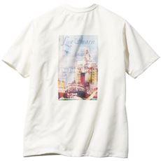 ドライ・バックプリントTシャツ