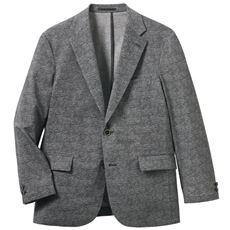 きちんと見えてらくらくの着用感 洗える涼感ジャケット(クールドッツ)