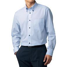形態安定デザインYシャツ(ゆったりシルエット)