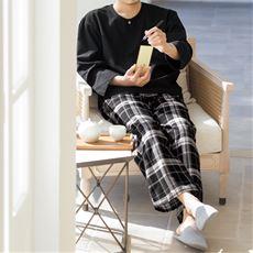 しじら長袖パジャマ
