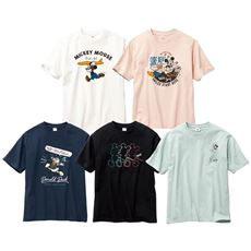 綿100%プリントTシャツ(DISNEY)