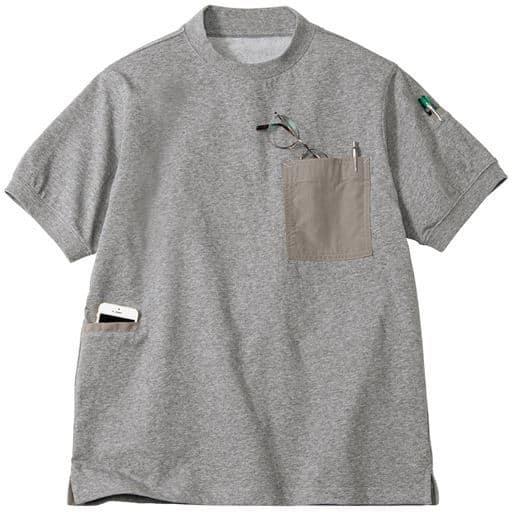 至れり尽くせりTシャツ (多ポケット&多機能素材を使用)