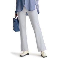 サマーハイテンションブーツカットパンツ(吸汗速乾・美脚パンツ・選べる3レングス・生地日本製・洗濯機OK)