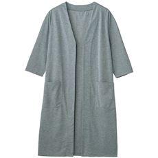 6分袖UVカット吸汗速乾ロングカーディガン