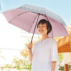 シルバーコーティング大判折りたたみ傘