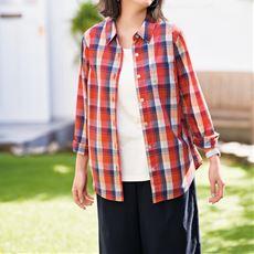 【ぽっちゃりさんサイズ】UVカットレギュラーシャツ(抗菌防臭)