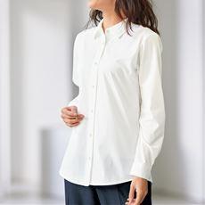 【ぽっちゃりさんサイズ】カットソーレギュラーシャツ(長袖) グラマー用サイズ有(胸のサイズで選べる)