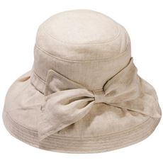 【ぽっちゃりさんサイズ】つばが広めの麻100%帽子(UVカット・洗濯機OK)