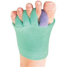 ふわふわ足指カバー(3色組)