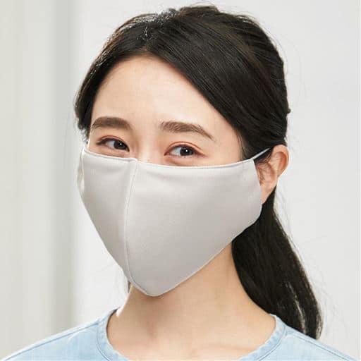 冷感立体大判マスク(2枚組)<美活計画>