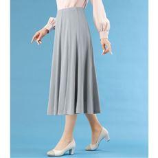12枚はぎの涼やかドレープスカート