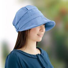 すっぴん涼感UVクロッシェ(帽子)