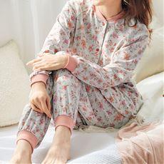 着替えらくらくスナップ釦パジャマ