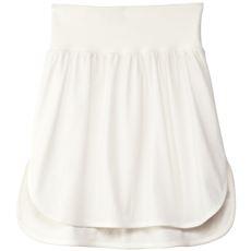 暑苦しくなく重ね着を叶えるつけ裾