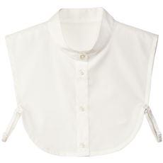暑苦しくなく重ね着を叶えるつけ衿