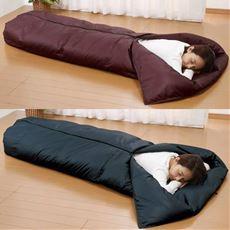 ふっくら羽毛2way寝袋2色組