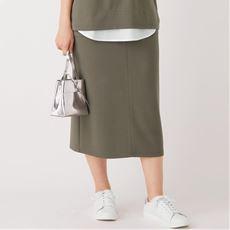 【ぽっちゃりさんサイズ】ロング丈イージースカート