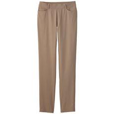 【ぽっちゃりさんサイズ】麻混ハイパーストレッチスキニーパンツ