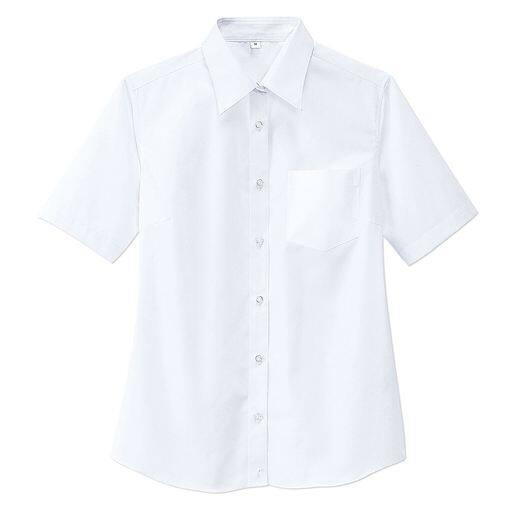 抗菌防臭&形態安定 半袖シャツ(スクール・制服)(ガールズ)