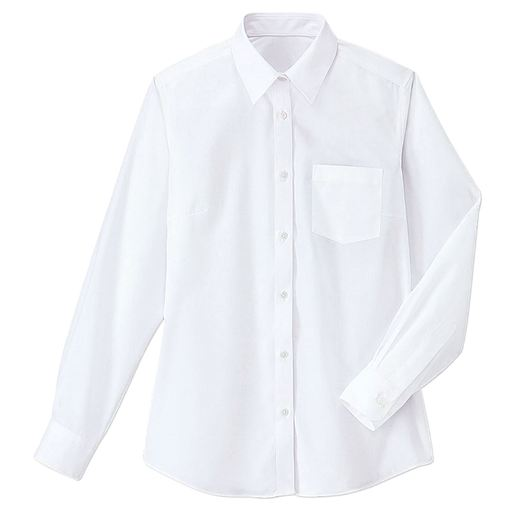 抗菌防臭&形態安定 長袖シャツ(スクール・制服)(ガールズ)