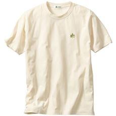 吸汗速乾機能付き 綿混半袖Tシャツ(ロゴス)
