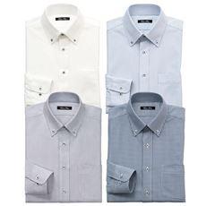 ニット素材で動きらくらくYシャツ/吸汗速乾