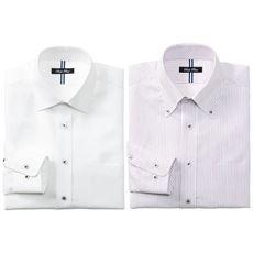 デザインで選べる 形態安定デザインYシャツ(すっきりシルエット)