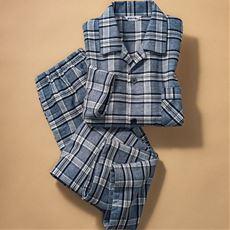 日本製ツイル起毛シャツパジャマ