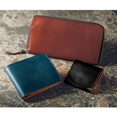 風合いある革の日本製栃木レザー財布