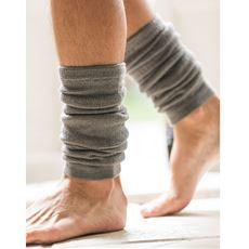 メンズ用レッグウォーマー 足首はもちろん伸ばせばひざまであったか
