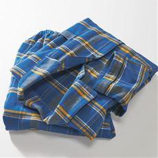 綿100%ネル先染めあったかシャツパジャマ(男女兼用)