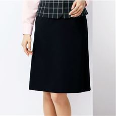 台形スカート(温度調整機能裏地付き)(事務服・洗濯機OK)(防汚加工・撥水)