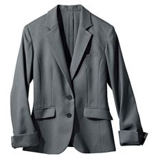テーラードジャケット(事務服・洗濯機OK・接触冷感・吸汗速乾・CoolBestⅡ)