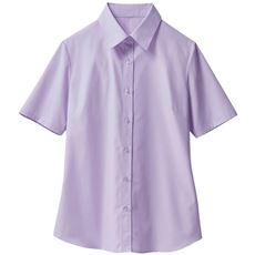 形態安定レギュラーカラーシャツ(半袖)(UVカット・抗菌防臭・洗濯機OK・部屋干しOK)
