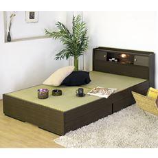 【組立+設置】棚 照明 引出付畳ベッド