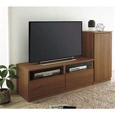 【設置】テレビボード(木目調)