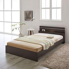 【組立+設置】デザインベッド(ボンネルマットレス付き)
