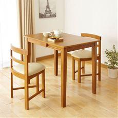 広がるダイニングテーブル/2段階(60cm・90cm) 省スペース