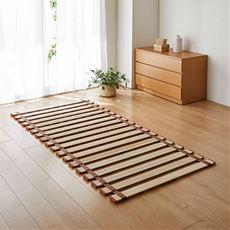 すのこベッド(桐天然木・ロール式)/軽量・丸めて省スペース収納