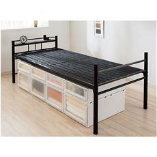 【組立+設置】高さ調整樹脂すのこベッド