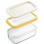1個あたり約5g(※)にカット!<br>ホームベーカリーや料理・お菓子作りに。<br><br>※200gのバターをカットした場合