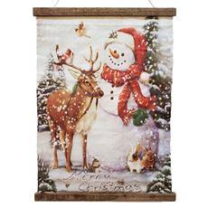 クリスマスハンギングキャンバス