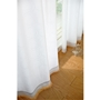 ホワイト<br>高い遮熱・保温性を発揮する、UVカットミラーレースカーテンです。