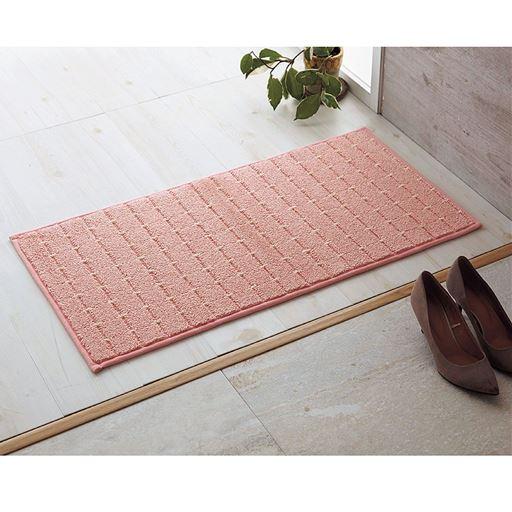 ソフトピンク(横90×縦45cm) 玄関マットとしてもおすすめ。