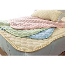 パッドシーツ(ニットパイル)/肌側綿100%(マットレス・敷布団・枕用)