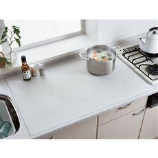 調理台シリコンマット/汚れ キズ すべり防止・耐熱温度約200℃
