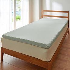 寝心地が良くなる寝具(3ゾーン体圧分散トッパー)
